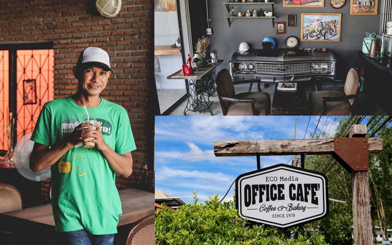 """หาดใหญ่   """"Office Cafe"""" นั่งจิบกาแฟ...บรรยากาศวินเทจโบฮีเมี่ยน"""
