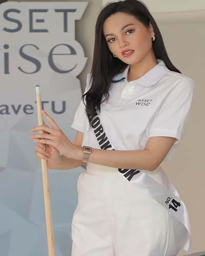 """""""น้องนกยูง""""สาวสวยสงขลา ผู้มีคุณแม่และคุณยายเป็นไอดอลในการใช้ชีวิต จนผลักดันตัวเองเข้ามาสู่การประกวดบนเวที มิสยูนิเวิร์สไทยแลนด์ 2564"""