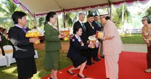 คลองหอยโข่ง | สมเด็จพระเทพรัตนราชสุดาฯ สยามบรมราชกุมารี เสด็จพระราชดำเนินทอดพระเนตรนิทรรศการผลงานทางวิชาการของคณะทรัพยากรธรรมชาติ